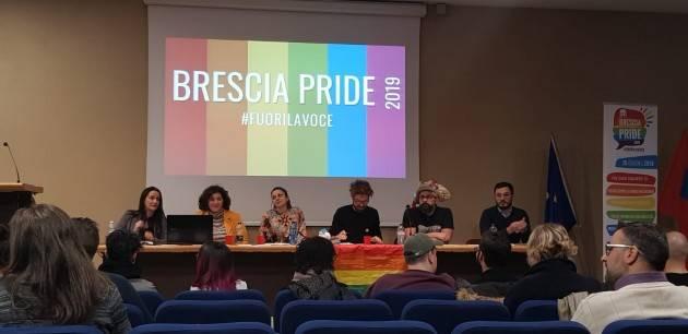 15 giugno Brescia Pride 2019 Fuori la Voce. Eventi collaterali anticipatori.