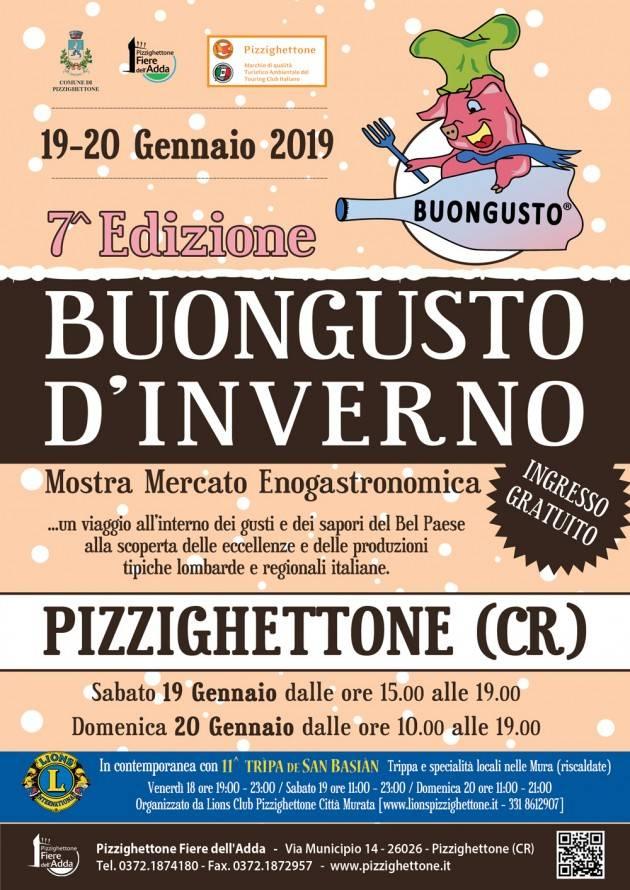Pizzighettone Città Murata di Lombardia   7 ^ BuonGusto d'Inverno 2019