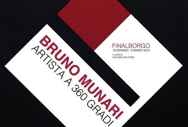Christian Flammia  : Al via a Finale Ligure la mostra di arte contemporanea dedicata a Bruno Munari