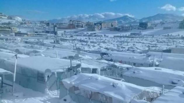 AISE UNICEF: IN LIBANO 40 MILA BAMBINI A RISCHIO PER LE TEMPESTE INVERNALI