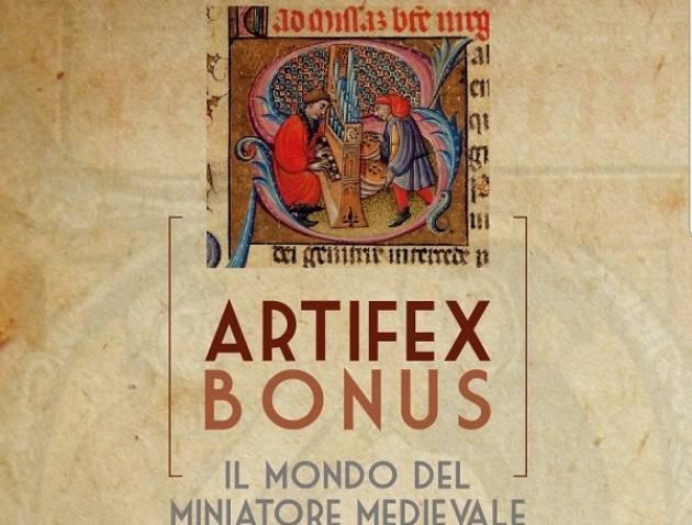Castelverde: dal 26 gennaio la mostra 'ARTIFEX BONUS - Il mondo del miniatore medievale'