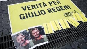 IL 25 GENNAIO #3ANNISENZAGIULIO  IN OLTRE 100 PIAZZE ITALIANE NEL TERZO ANNIVERSARIO DELLA SPARIZIONE DI GIULIO REGENI AL CAIRO