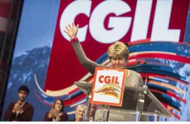 XVIII Congresso  Cgil Camusso  : noi ci siamo,  la nostra sfida per il Paese . Il 9 febbraio in piazza