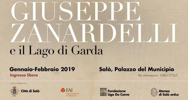 Dal 29 gennaio, ciclo di conferenze a Salò su Giuseppe Zanardelli e il Garda.