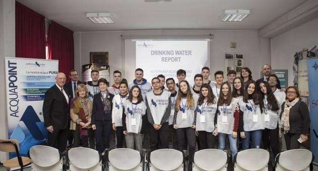 Cremona, Padania Acque: Drinking Water Report, al via progetto alternanza scuola lavoro dedicato acqua rubinetto