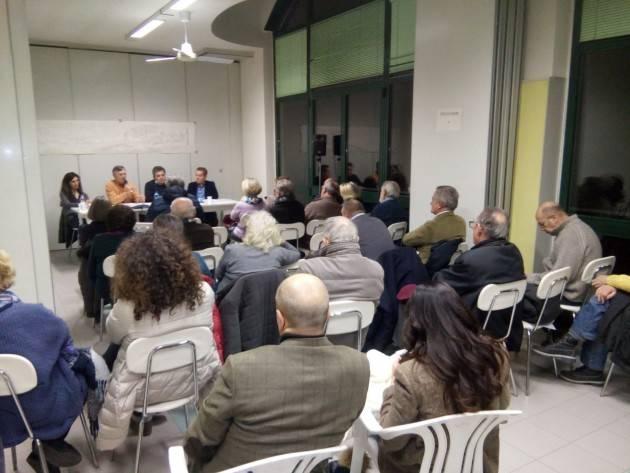 Gussola tanta gente all'incontro sull'Oglio Po organizzato da Sinistra Italiana