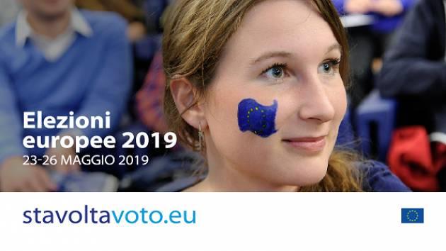 Elezioni europee: domanda cittadini comunitari 2019 entro 25 febbraio