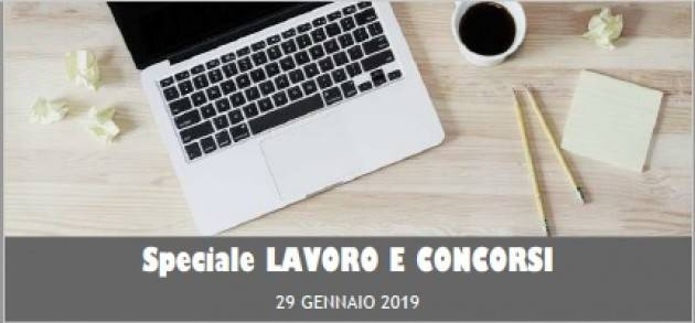 InformaGiovani Cremona Speciale Lavoro e Concorsi Proposte del 29 gennaio 2019