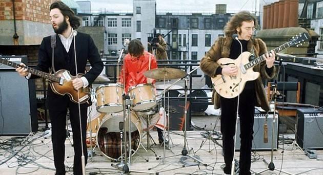 AccadeOggi  31 gennaio 1969 – Londra: Ultima esibizione pubblica dei Beatles sul tetto della Apple Records.