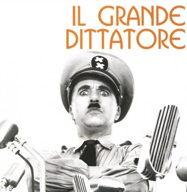 Piacenza: Passerini Landi, sabato la proiezione del film 'Il grande dittatore'