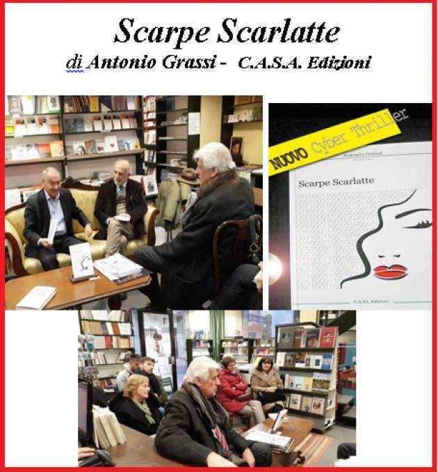 L'ECOLIBRI Scarpe Scarlatte di Antonio Grassi -  C.A.S.A. Edizioni