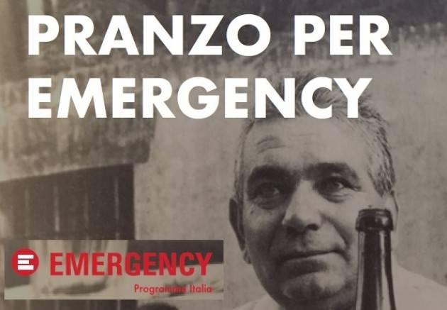 A Pontirolo Cremona PRANZO PER  EMERGENCY