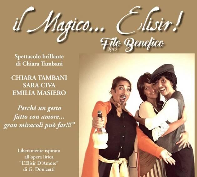 Cremona: Il magico...elisir! lunedì 4 febbraio al Teatro Filodrammatici