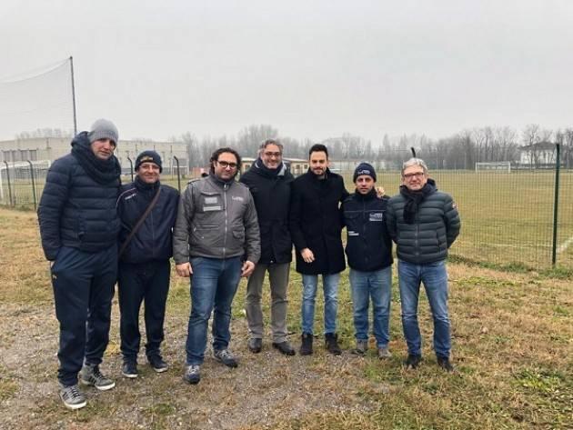 Cavatigozzi, recuperata un'area verde protetta al centro sportivo comunale