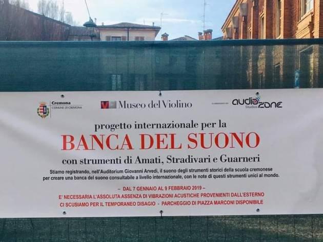 (Video) MDV Cremona Paolo Bodini soddisfatto di come sta andando il  progetto 'Banca del Suono'