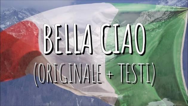 Milano Ass.La Conta  Invito alla serata STORIA E ORIGINE DEL CANTO POPOLARE BELLA CIAO il 16 febbraio