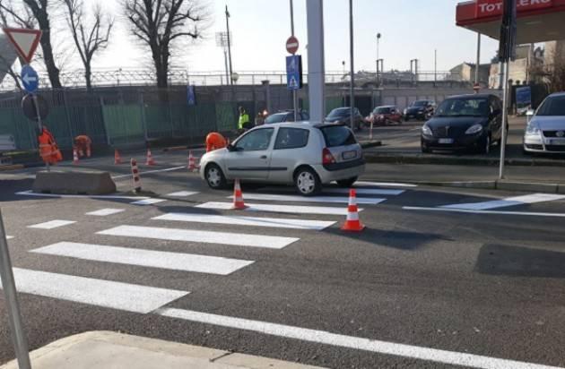 Cremona: Traffico in via Gallazzi più scorrevole