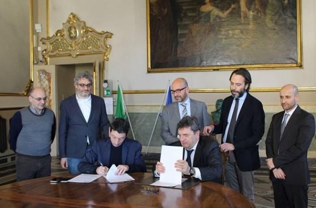 Cremona: siglato l'accordo tra Linea Più e il Comune