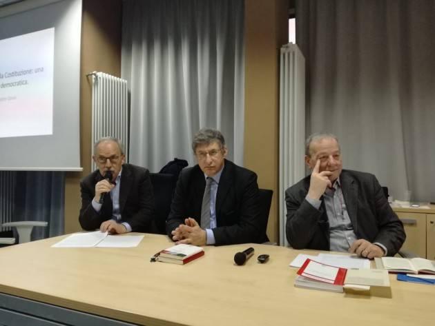 Ass.25 Aprile Cremona  presenta i video su 'La lingua della Costituzione' con i relatori Cortellazzo e Deon