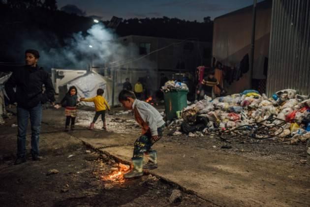 Pianeta Migranti. Voci dirette dal campo profughi di Moria, a Lesbo.