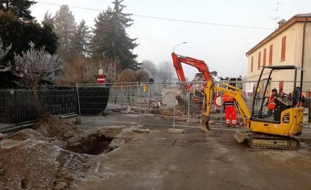 Padania Acque Dall'11 febbraio lavori di asfaltatura a Soresina in via Montenero
