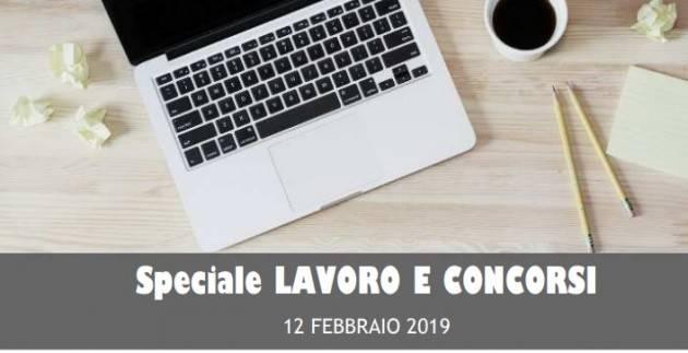 InformaGiovani Cremona Speciale Lavoro e Concorsi Proposte del 12 febbraio 2019