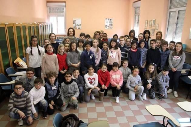 Piacenza: L'incontro del sindaco Barbieri con il Consiglio dei bambini del 4° Circolo
