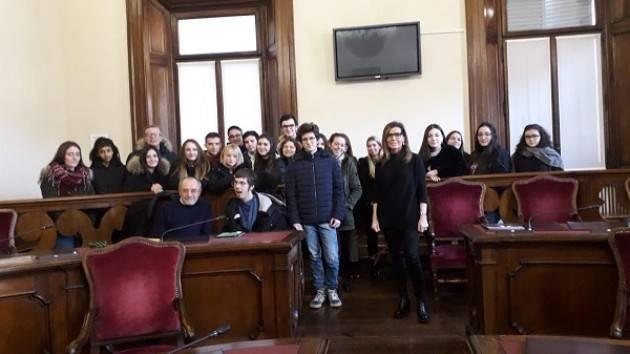 Piacenza: il sindaco Barbieri incontra gli studenti del liceo Gioia