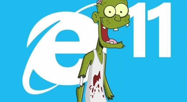 Zeus Microsoft chiede agli utenti di non usare Internet Explorer