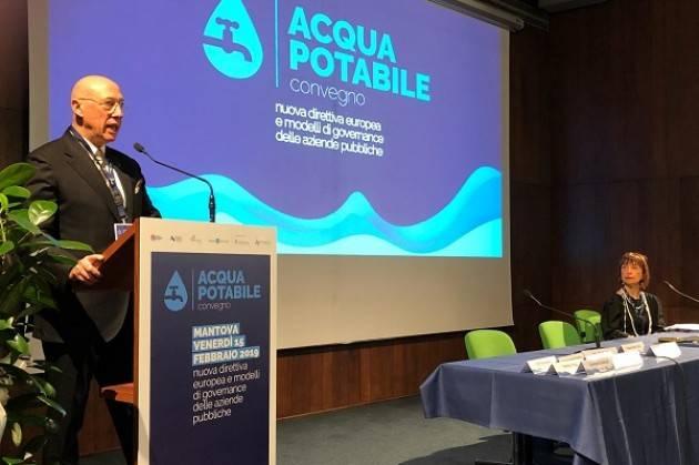 Padania Acque Il mondo dell'acqua riunito a Mantova:  operatori a confronto su direttive europee