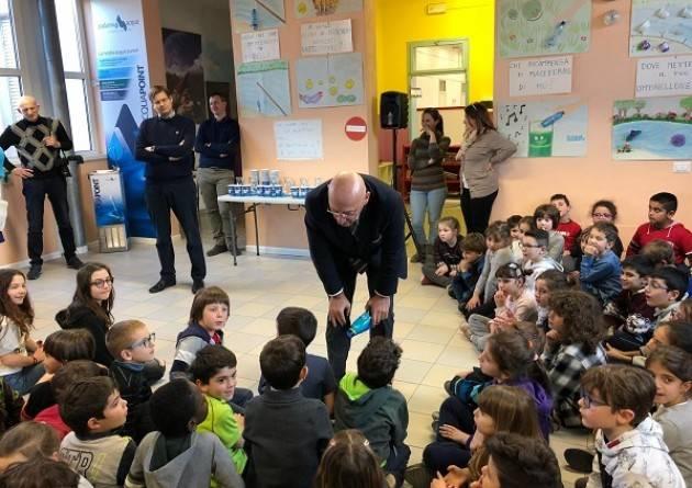 Padania Acque S.p.A., Vicomoscano: inaugurato il corner Acqua Point alla scuola Primaria