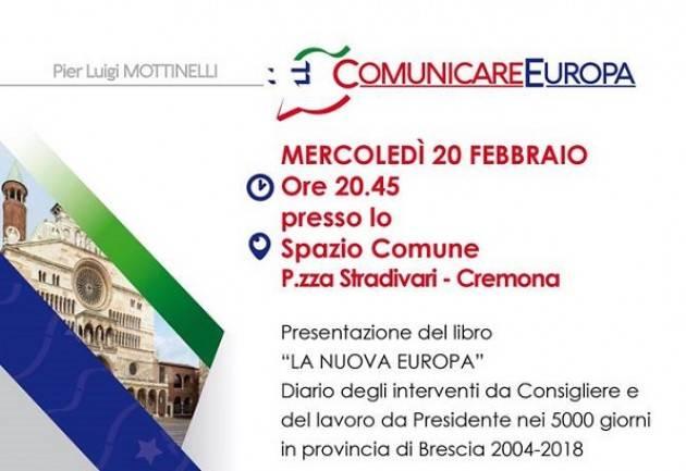 Presentazione del libro 'La nuova Europa, casa delle nazioni' di Pier Luigi Mottinelli