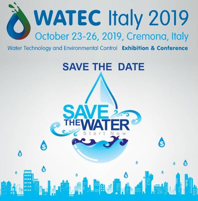 AISE A CREMONA IL WATEC ITALY 2019 dal 23 al 26 ottobre 2019