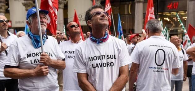 MORTI SUL LAVORO, PILONI (PD): 'IN LOMBARDIA DATI INACCETTABILI'