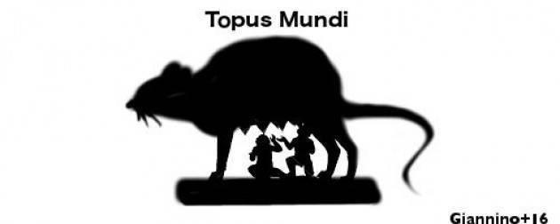 ADUC Roma Capitale. Rifiut:i topi aiutiamoli a casa loro