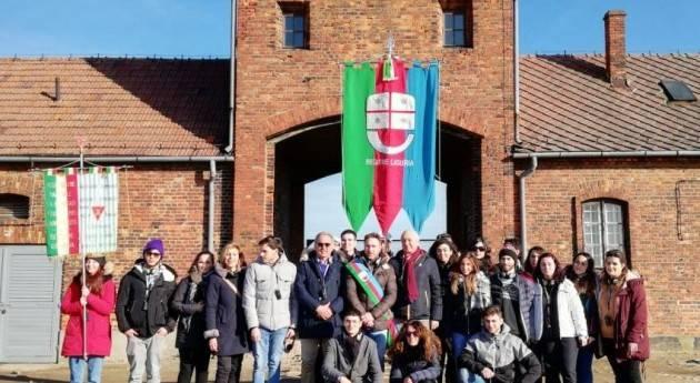 Genova Visita ai campi di sterminio Auschwitz-Birkenau da parte degli studenti liguri (di Christian Flammia)