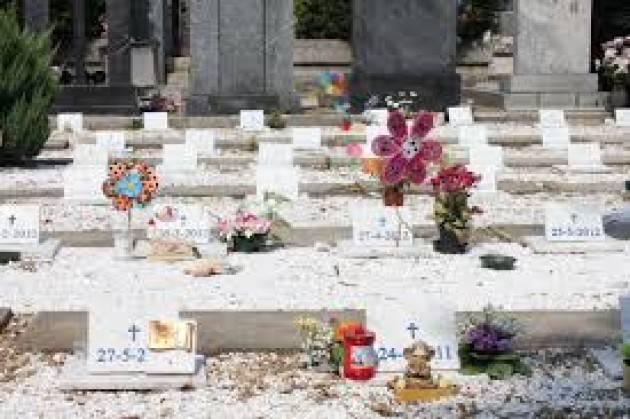 Lombardia Servizi funebri Piloni (Pd) :abolito  l'obbligo di sepoltura degli embrioni