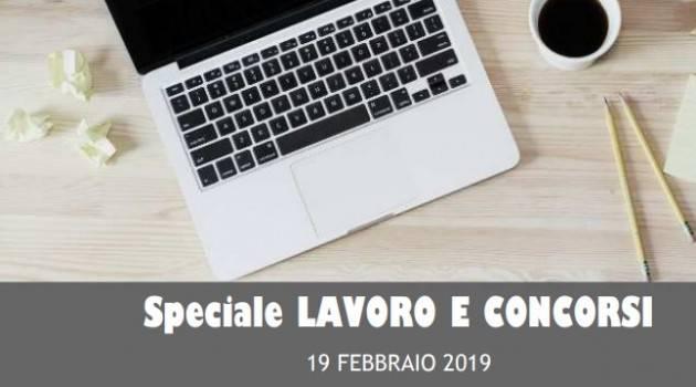 InformaGiovani Cremona Speciale Lavoro e Concorsi Proposte del 19 febbraio 2019