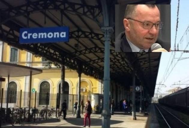 Luciano Pizzetti ( Pd) : la conferma del raddoppio del primo tratto della ferrovia Mantova-Codogno è una bella notizia