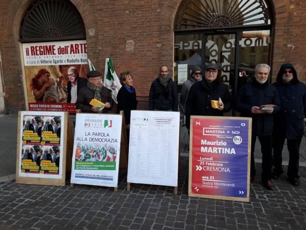 Primarie Partito Democratico del 3 marzo. Anche Cremona partecipa con ben 73 seggi in tutta la provincia