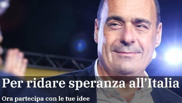 Per Nicola Zingaretti segretario Pd  di Massimo Negri – Casalmaggiore (CR)