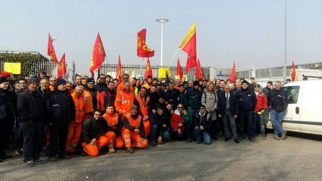 Rho (Milano) Solidarietà dell'Amministrazione comunale ai lavoratori della Sirti di Mazzo