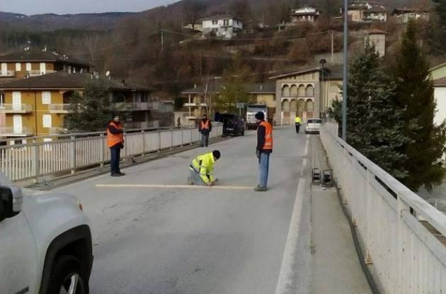 Ponte sul Nure di Farini, lavori di consolidamento strutturale e rifunzionalizzazione