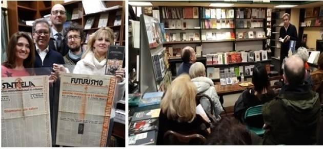 L'ECOEVENTI Alla Libreria del Convegno Pautasso ed il Futurismo