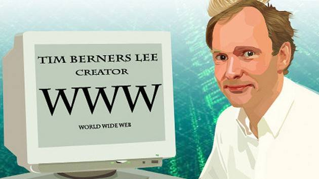 AccaddeOggi  26 febbraio 1991  Tim Berners-Lee rilascia WorldWideWeb