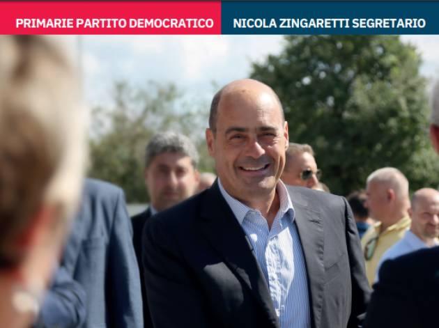 Cremona Primarie PD 3 marzo IN 100 PER #VOLTAREPAGINA CON NICOLA ZINGARETTI