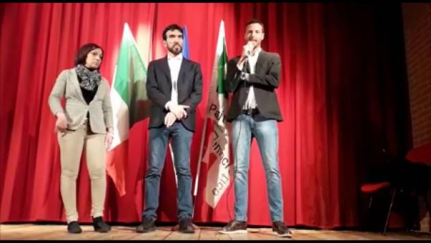 (Video) Primarie PD 3 marzo '19 . Maurizio Martina a Cremona invita gli elettori del Pd ad andare a votare