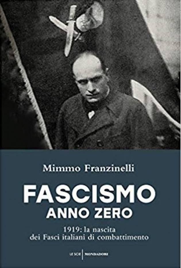 L'ECOSTORIALIBRI  FASCISMO ANNO ZERO Conferenza di  Mimmo Franzinelli il 16 marzo al Filo di Cremona