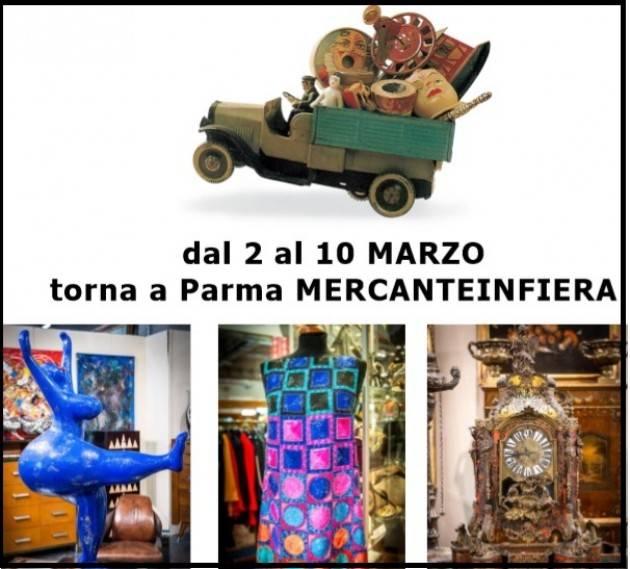L'ECOMEMO Torna a Parma MERCANTEINFIERA dal 2 al 10 MARZO