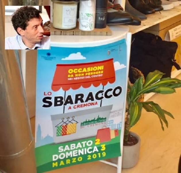 Gianluca Galimberti ringrazia i commercianti che hanno aderito allo Sbaracco del 2 e 3 marzo